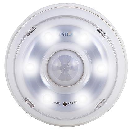 Luz de noche de 6 LED con detección de movimiento Ivation - Luz de pasillo con