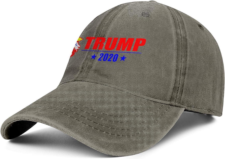 NYQACRRRE Men Women Caps Trump 2020 Hat Snapback Fishing Denim Cap Blank Hats