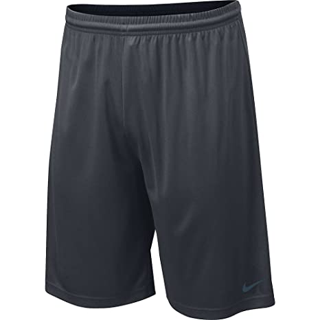 5cc9acb86 Nike Men's Anthracite Team Fly DriFit Shorts, Large, anthracite/matte silver