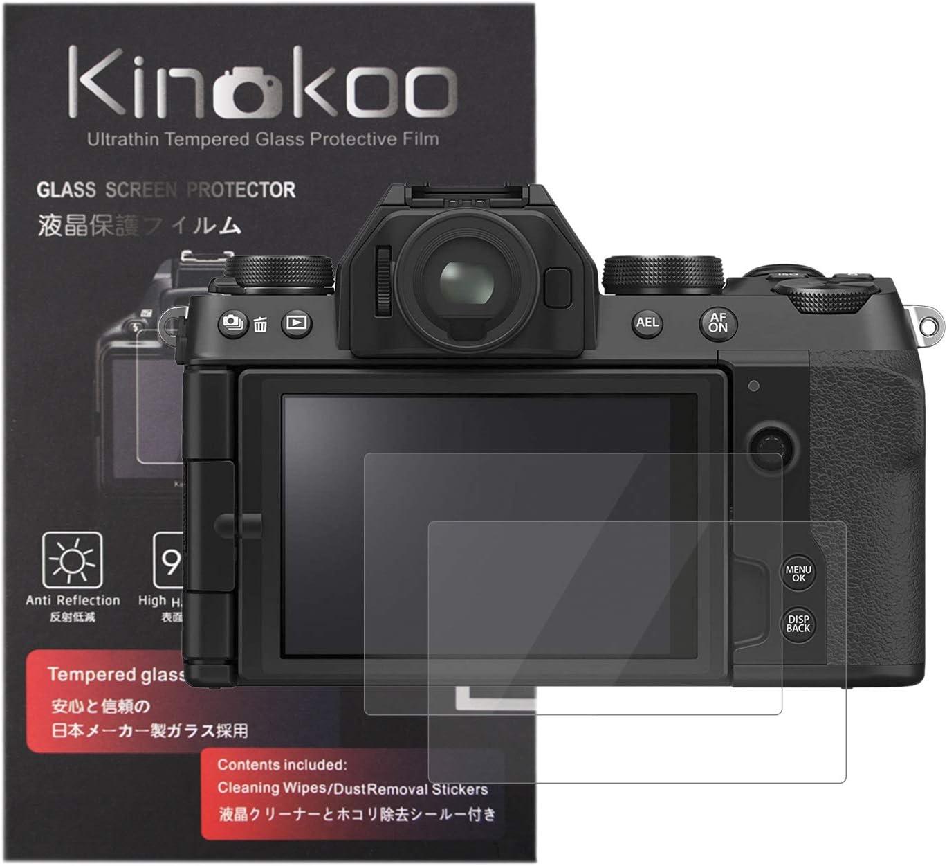 Kinokoo Displayschutzfolie Aus Gehärtetem Glas Für Fuji Kamera