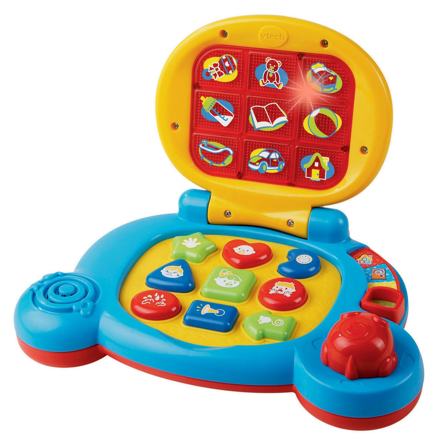 Amazon VTech Baby s Learning Laptop Blue Toys & Games
