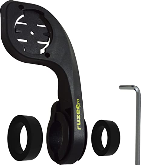 RUZER - Soporte para manillar de bicicleta para Garmin Edge 200, 500, 510, 800, 810 y 1000: Amazon.es: Deportes y aire libre