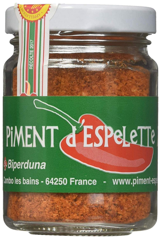 Piment d'Espelette - Red Chili Pepper Powder from France 1.41oz (6 Pack)