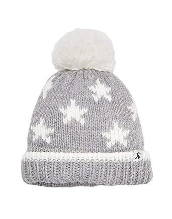 e343addabe528a Joules Baby Boys Vega Oversized Pom Hat Creme Star 0-6: Amazon.co.uk:  Clothing