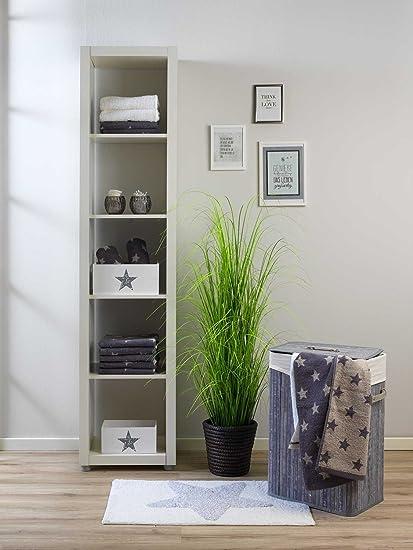 Home4you Badematte Badteppich Badezimmerteppich Stern 2 50 X 80 Cm