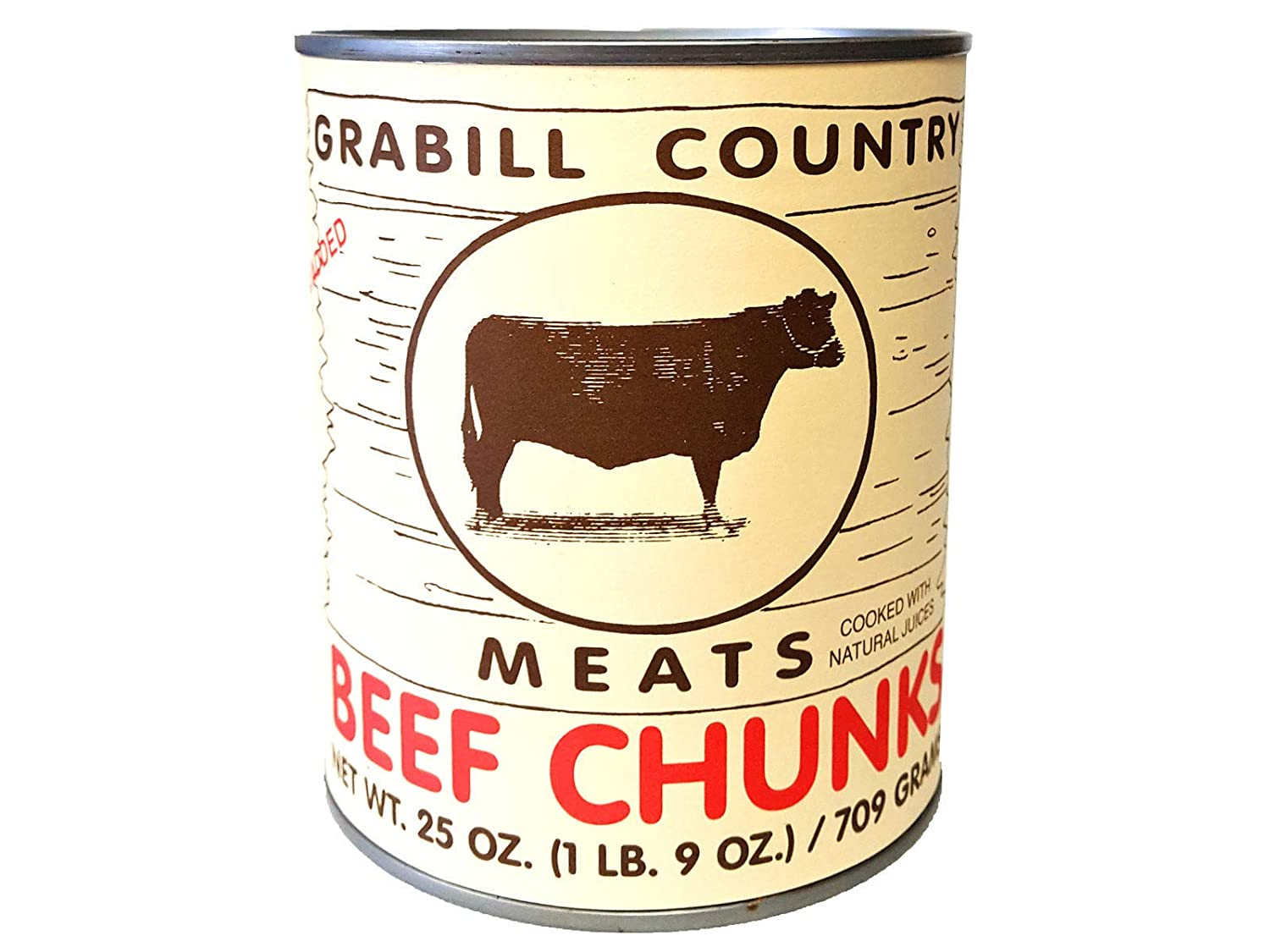 Grabill Country Meats Canned Meats, Variety Pack, Favorite Amish Food, 106 Oz.
