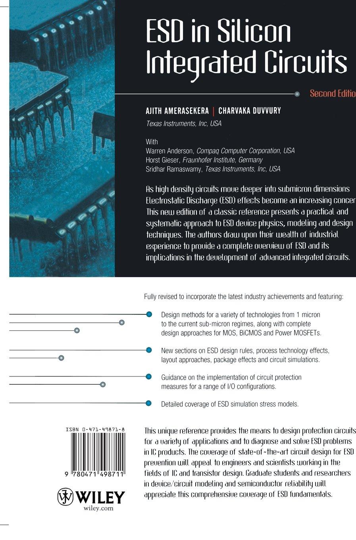 ESD in Silicon Integrated Circuits 2e: Amazon co uk