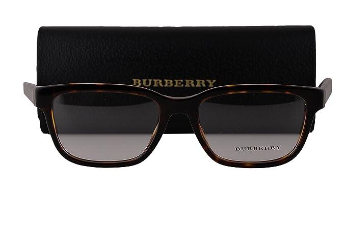 61508b45ce0 Burberry BE2230 Eyeglasses 53-17-145 Dark Havana 3002 BE 2230 ...
