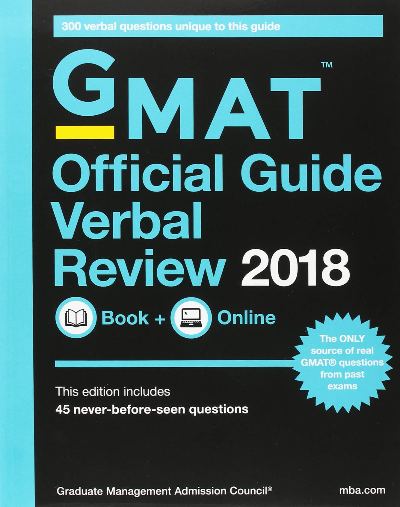 GMAT Official Guide 2018 Bundle: Books + Online: Amazon.de ...