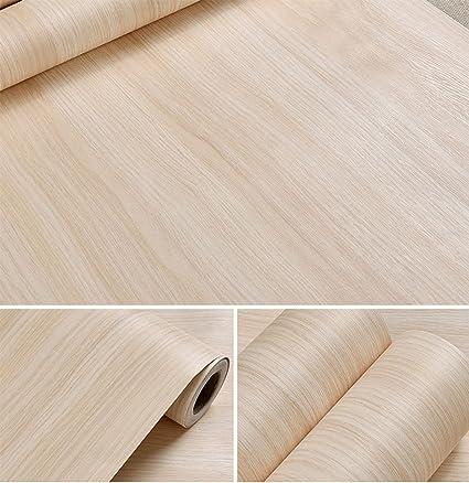 Autoadhesivo sintética luz madera de arce vinilo papel de contacto ...