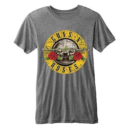 Guns N Roses Camiseta Oficial, diseño Vintage Envejecido, Talla XXL