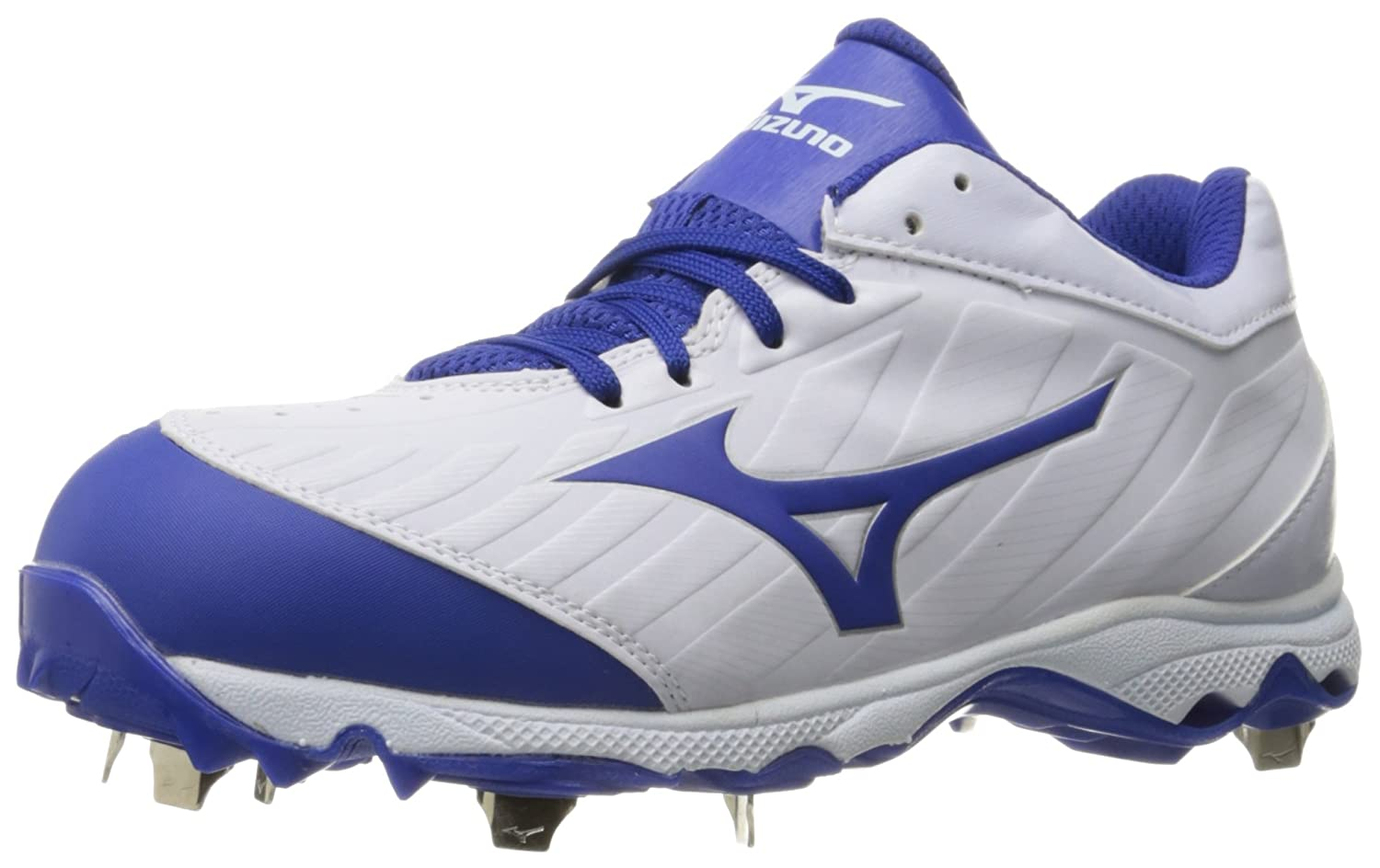 Mizuno Women's 9-Spike Advanced Sweep 3 Softball Shoe B01HQE1LJG 8.5 D US|White-royal
