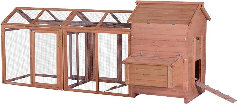 Lovupet - Caja de Madera para gallinas y cacerolas: Amazon.es: Jardín