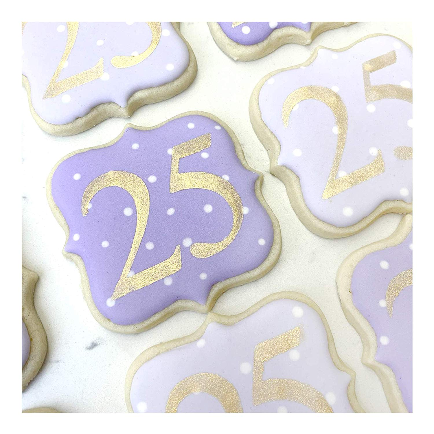 4 PCS Cake Alphabet Number Stencils 2 Inches Times New Roman for Cake Art Crafts Painting with Art Brush//Storage Bag//Ruler 6.3 x 11.6 inch