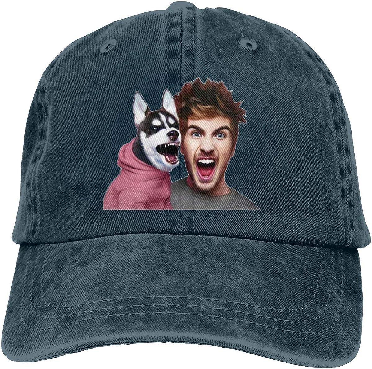 Zlizhi Joey Graceffa Men Women Plain Cotton Adjustable Washed Twill Low Profile Baseball Cap Hat