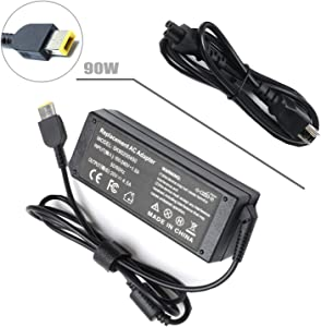 20V 4.5A 90W AC Adapter Charger for Lenovo Thinkpad T440 T440S L440 E470 X250 T560 T550 E560 E540 L560 L540 E450 N20P X240 X260,Edge E440 E460 E431 Lenovo Essential G700 G710 G405