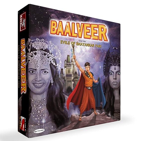 Toy Kraft Children's Board Game - Balveer and The Evils of Bhayankar Pari,  Multi Color