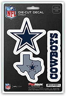 product image for Fanmats unisex-adult NFL Dallas Cowboys Team Decal, 3-Pack Blue, One Size