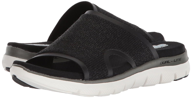 Skechers Women's Flex Appeal 2.0 Summer Jam Casual Sporty Comfort Slide Sandal