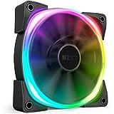 NZXT AER RGB 2 - HF-28120-B1 - 120mm - Advanced Lighting Customizations - Winglet Tips - Fluid Dynamic Bearing - LED RGB PWM