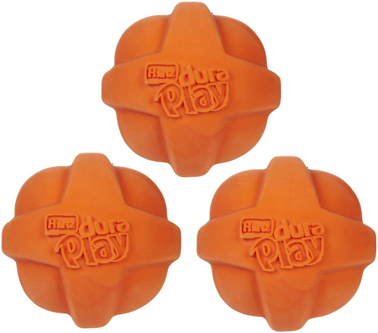 HARTZ Ball Dog Toy - Small - 3 pack - Assorted Colors