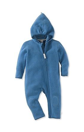 hessnatur Baby Mädchen und Jungen Unisex Fleece Overall aus Reiner Bio-Baumwolle