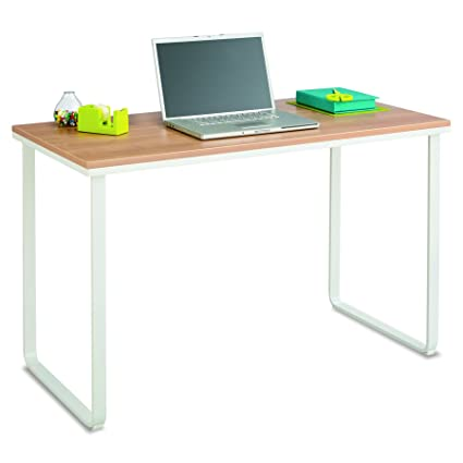 office desks white with stylish brown jmcalla simple accessories p new modern wood albuquerque in contemporary desk top matte veneer