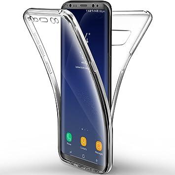 Leathlux Funda Samsung Galaxy S8 Plus, Carcasa [*NO para S8 5.8 ...