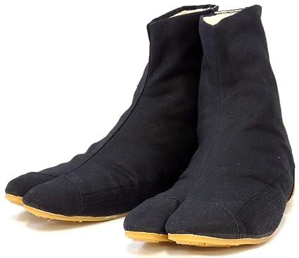 Ninja Tabi Shoes Low Top Comfort-Cushioned! Black Rikio JikaTabi (JP 28cm approx