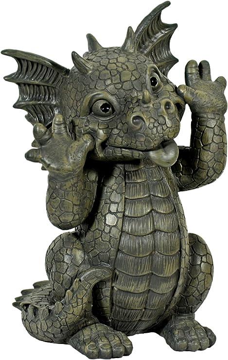 Dragón! Muecas! Niño del dragón! La decoración! Jardín! Figura!: Amazon.es: Hogar