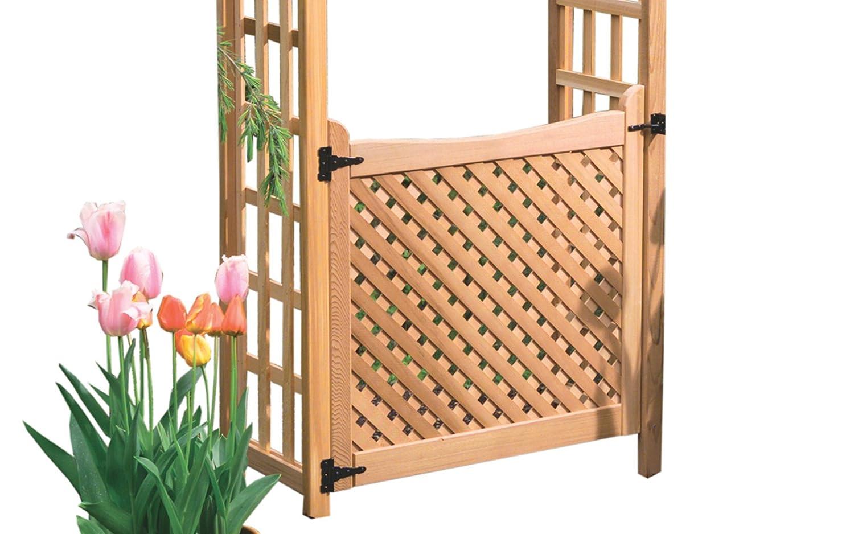 Wooden garden gates for sale - Amazon Com Arboria 36 Inch Cedar Garden Gate Arbors Patio Lawn Garden