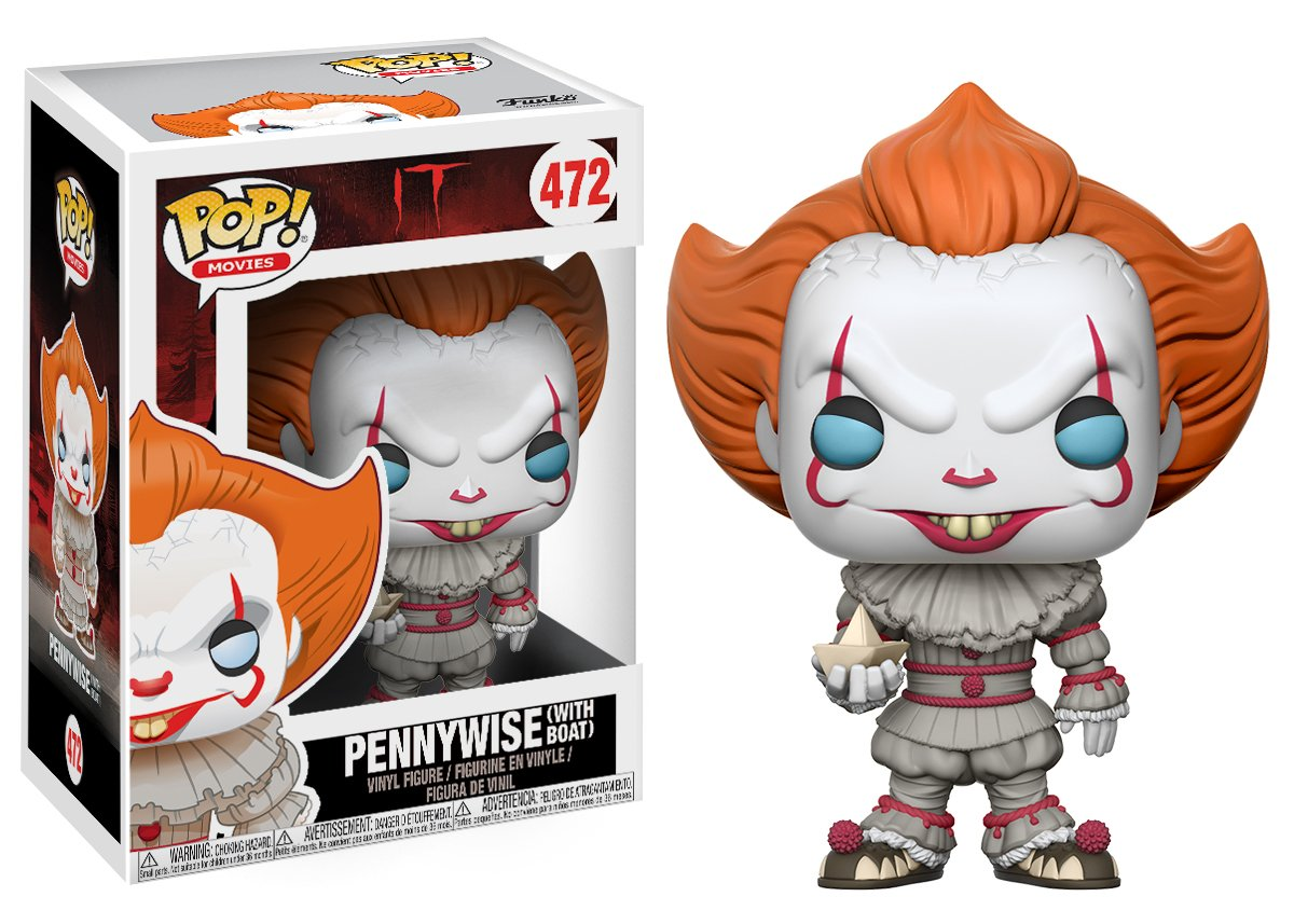 FUNKO POP! Movies: It - Pennywise with Boat 20176 Accessory Toys & Games