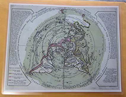Air Map Of The World.Amazon Com Laminated Planisphere Azimuthal Equidistant Flat Earth