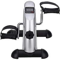 AGM Beentrainer mini bike hometrainer fitnessbike trainingsapparaat voor thuis zilver