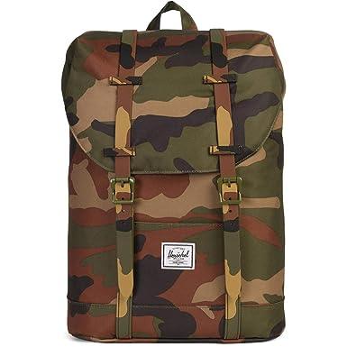 Herschel Kids  Retreat Youth Children s Backpack Woodland Camo One Size 8a345fff18