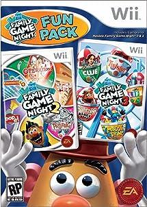 Hasbro Family Game Night Fun Pack Nintendo Amazon Com