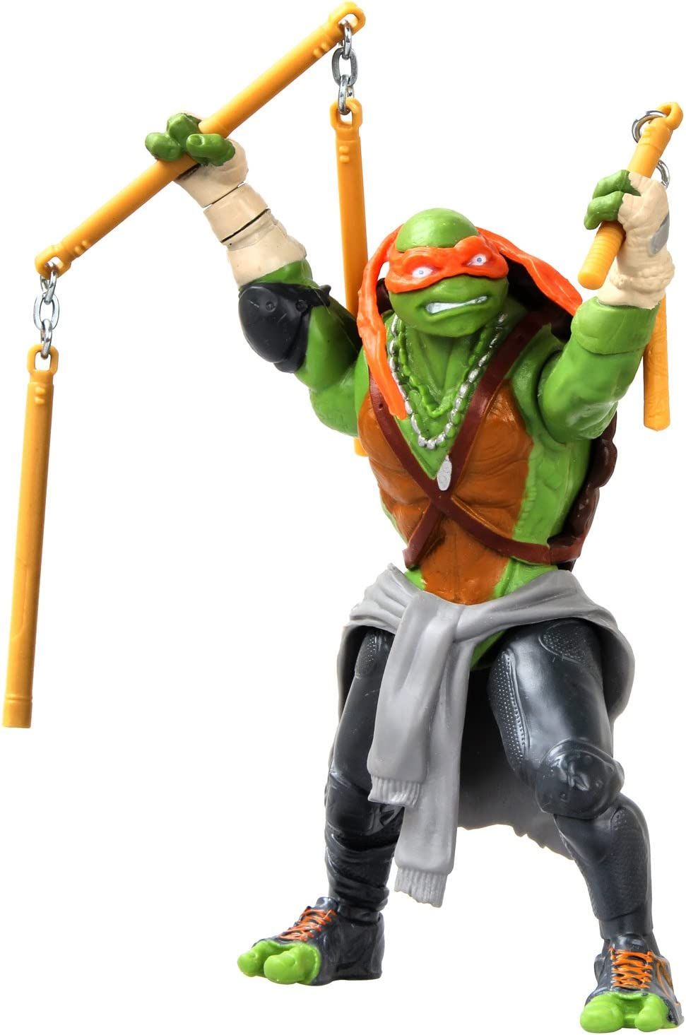 Teenage Mutant Ninja Turtle Movie Deluxe Michelangelo Figure