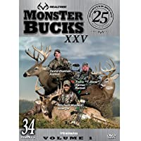 Realtree Monster Bucks XXV Volume 1 - Deer, Elk, Big Game, Hunting Video DVD Collection Production