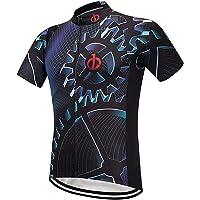 Moxilyn Camisetas de Ciclismo para Hombre, Camiseta Corta