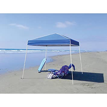 10u0027 X 10u0027 Instant Canopy Popup Gazebo Shade Cover C&ing Blue For Outdoor Backyard  sc 1 st  Amazon.com & Amazon.com: 10u0027 X 10u0027 Instant Canopy Popup Gazebo Shade Cover ...