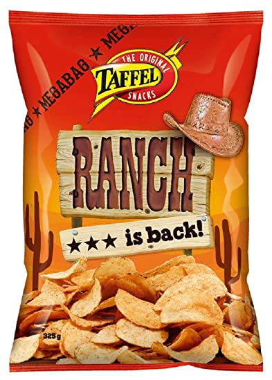 taffel Ranch – Original – Finnish – patatas chips – Bolsa ...