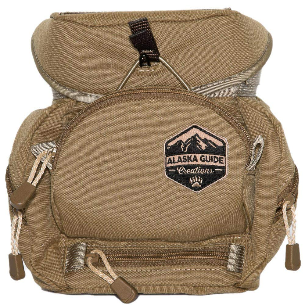 Alaska Guide Creations Kodiak C.U.B MAX Bino Harness-Coyote Brown by Alaska Guide Creations