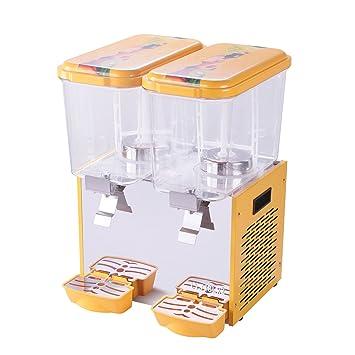 VEVOR Dispensador de Bebidas para llenado de bebidas Juice Dispenser Beverage dispenser Dispensador y Enfriador para Cold Fruit Juice Ice Tea Comercial Usar ...