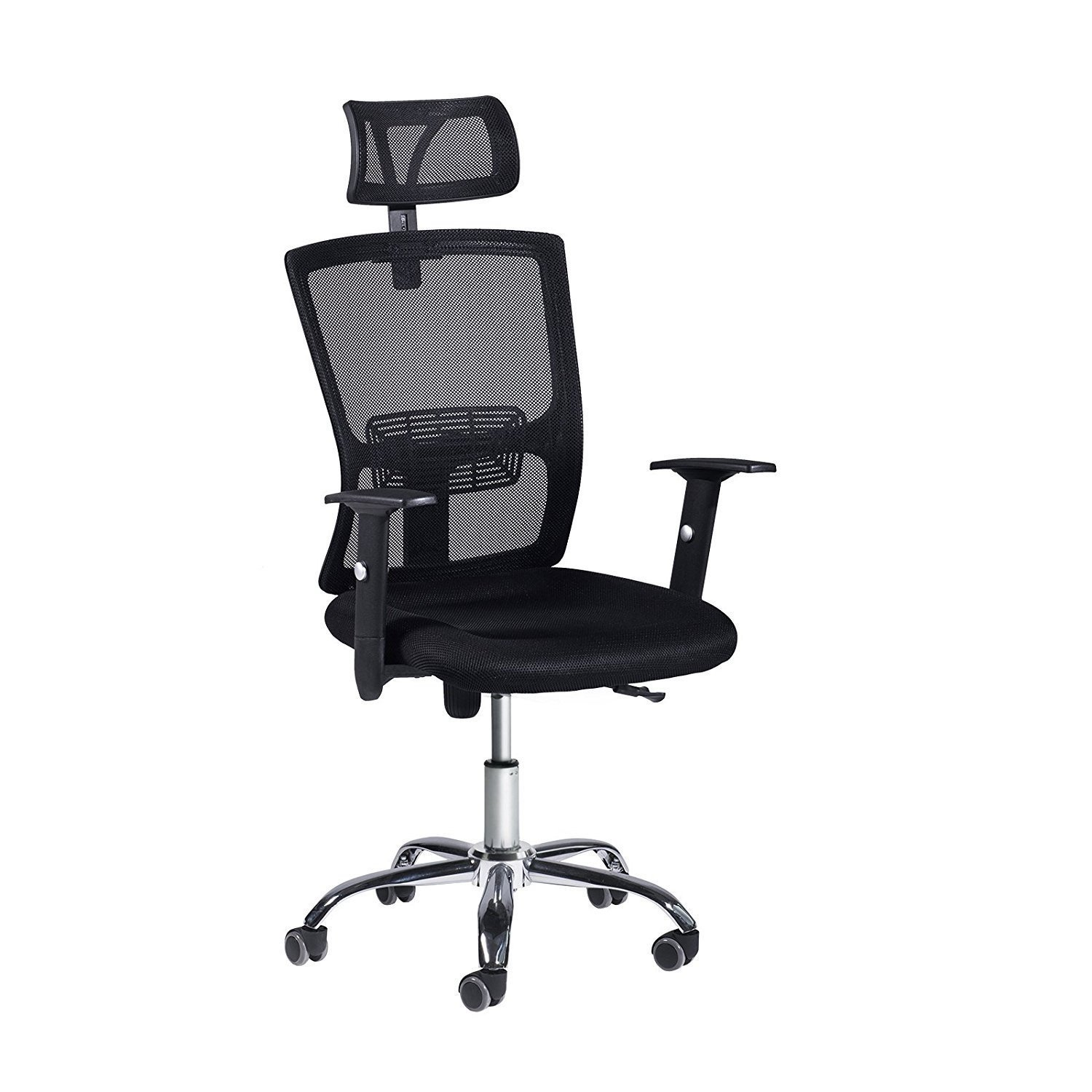 E EVERKING Mesh Ergonomic Office Chair, High Back Executive Task Chair with Adjustable Headrest Armrest,360 Degree Swivel Computer Desk Chair for Gaming Home Office Conference Room