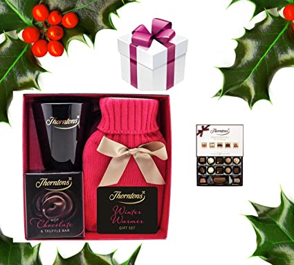Thorntons Winter Warmer Hot Chocolate And Chocolate Christmas Gift Exclusive To Moreton Gifts: Amazon.co.uk: Grocery