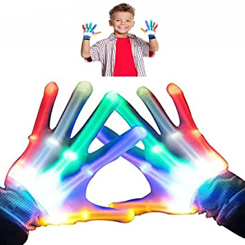 Buy Teen Boys Gifts DIMY Flashing Gloves For Girls Birthday Present 11 Years Old 7 G02 Online At Low Prices In India