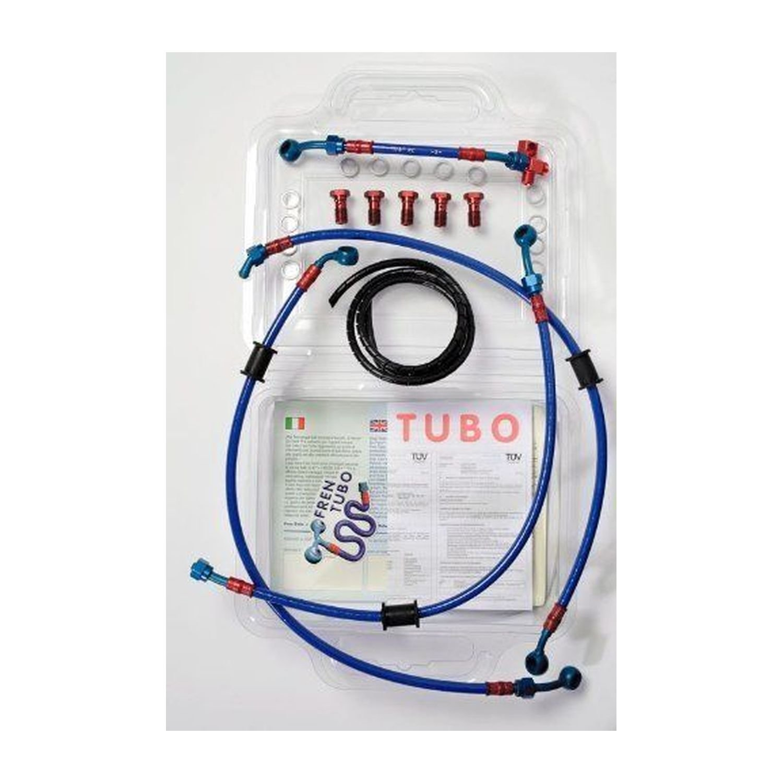 Fren tubo kit tubi guzzi v35 / v65 florida 86/97 ***tubo post. l=400 mm.** 3 430047-400-3