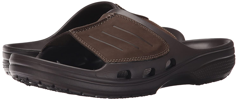 2ef0e1cc4e29a Crocs Yukon Mesa Slide M Men Slip on  Buy Online at Low Prices in India -  Amazon.in