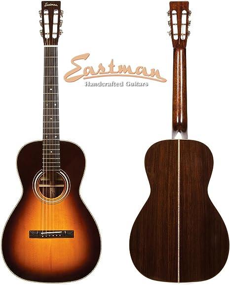 Eastman E20 Parlor tradicional plancha de guitarra acústica con ...