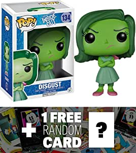 Amazon.com: Disney Pixar Disgust: Funko POP! x Inside Out